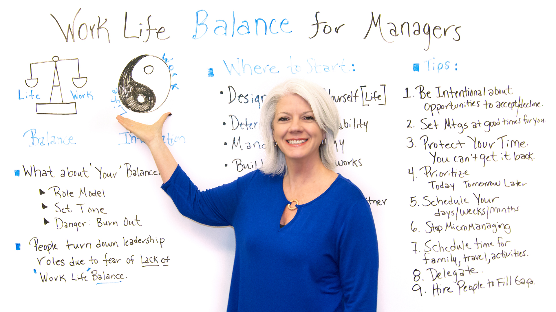 Work Life Balance For Managers