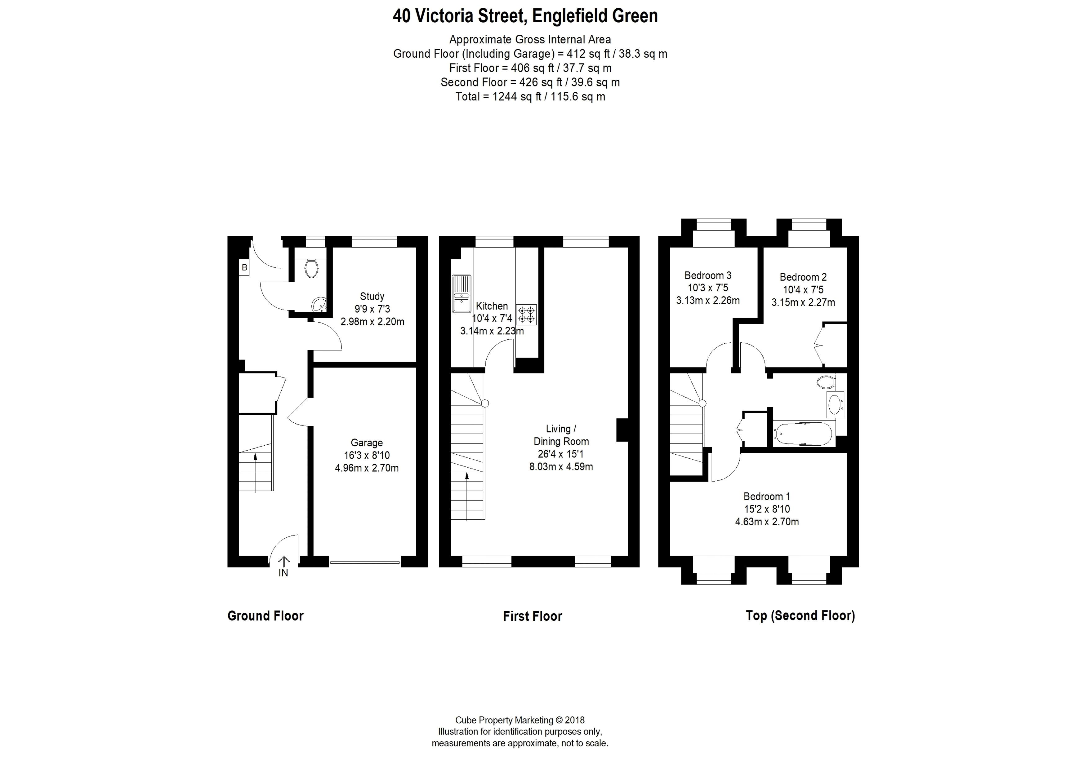 4 Bedroom House For Sale In Egham