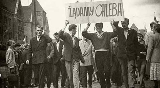 Manifestacja na ul. Armii Czerwonej (obecnie Święty Marcin)