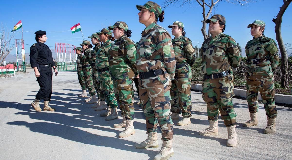Kobiece oddziały kurdyjskie