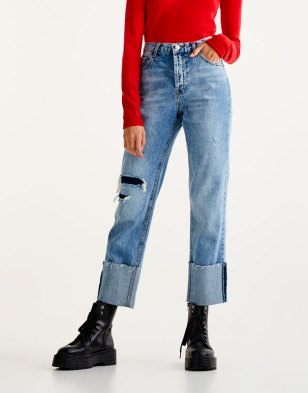 Le pull oversize 15 looks cozy à copier - jean taille haute