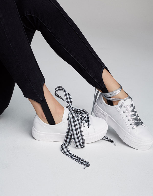 lacets baskets pull&bear wishlist blog mode bordeaux