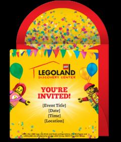 Free Legoland Online Invitations Punchbowl