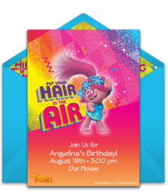 free trolls online invitations punchbowl