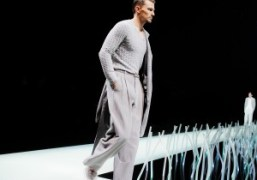 One look from the Giorgio Armani Men's S/S 2016 Show, Milan