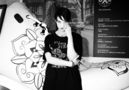 Actress Asia Argento at the O.X.SS/S 2016 presentation at Pitti Uomo 88,…