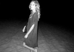Chelsea Schuchman at Zuma Beach, Los Angeles