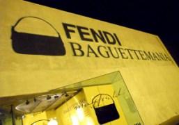 """Fendi Baguette"" exhibition reception at Maxfield, Los Angeles"