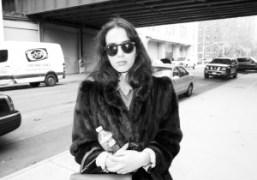 Purple Art contributor Juliana Balestin in Chelsea, New York.Photo Brad Elterman