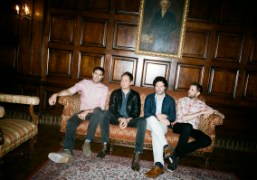 British bandKeane in the lobby of The Orpheum Theatre,Los Angeles. Photo Brad…