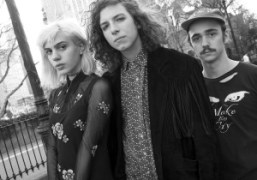 Julia Cumming, Nick Kivlen, and Jacob Faber from the neo psychedelic band…