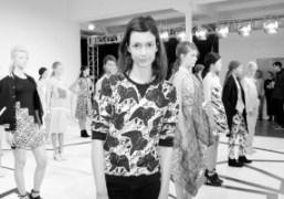 CallaHaynesat theCalla New York Fashion WeekF/W 2014 presentation, New York.Photo Elise Gallant