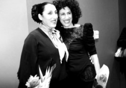 """""""Traveling Lady"""" starring Rossy de Palma by Jessica Mitrani at FIAF, New..."""