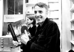 Jules de Balincourtsigning his epinoumous book at Bookmarc, New York.Photo Elise Gallant