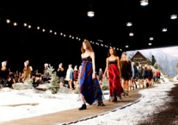The finale of theTommy Hilfiger New York Fashion Week F/W 2014 show,...