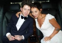 Dustin Dollin and Emilie Kareh's wedding and reception at Église Saint-Leu-Saint-Gilles (Part...