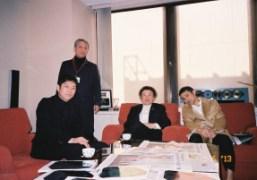 Kohei Nawa, Shigeo Goto, Kishin Shinoyama and Chikashi Suzuki, Tokyo. Photo Chikashi…