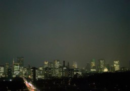 Night view in Tokyo. Photo Chikashi Suzuki
