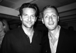 Childhood best friends actor Bradley Cooper and director Brian Klugman at a…