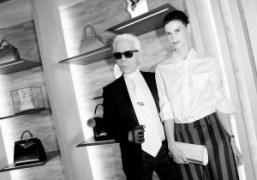 The opening of new Fendi boutique at 51 avenue Montaigne, Paris
