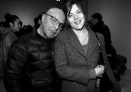 Jean Baptiste Mondino and Valerie Donzelli at the A.P.C and Vanessa Seward…