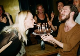 Jen Gilpin's birthday at Neue Odessa Bar, Berlin