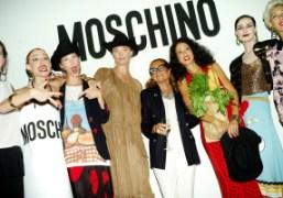 Catwalk legends Diana Dondoe, Natasa Vojnovic, Alana Zimmer, Jodie Kidd, Moschino designer...