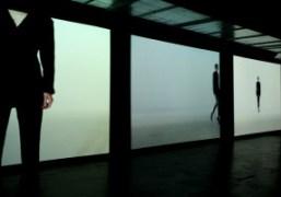Alternate runway, the Nicolas Andreas Taralis S/S 2014 collection film screening, Paris.