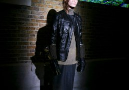 One look from the Belstaff F/W 2014 presentation at The Serpentine Sackler...