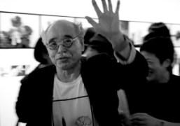 Nobuyoshi Araki exhibition opening at Taka Ishii Gallery, Tokyo