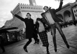 Vincent Darré, Natacha Ramsay-Levi and Ellie Top, Florence. Photo Olivier Zahm