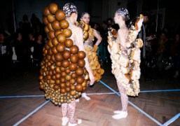 """""""Feast"""" the threeASFOUR for Performa 13 at the Jewish Museum, New York"""