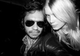 Olivier Zahm and Elsa Sylvanat the Hotel Principe di Savoia, Milan. Photo…