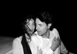 My dear friend, the artist Miltos Manetas with his beautiful Columbian girfriend…