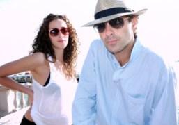 My favorite new couple Catelina and Miltos Manetas, Venice. Photo Olivier Zahm