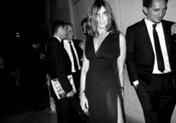 Carine Roitfeld celebrates the launch of CR fashion book part II, New...