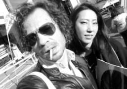 Olivier Zahm and Kazumi Hayashi who runsDune and The Last Gallery, Tokyo….