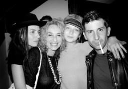Tasha, Ann Dexter-Jones, Annabel Dexter-Jones and Andre Saraiva, New York. Photo Olivier…