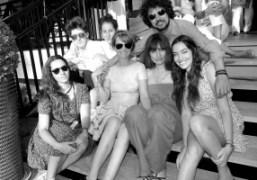 Sara Nataf, Dustin Dollin, Emilie Kareh, Laetitia Hallyday, Caroline de Maigret, and...