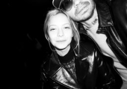 Annabelle Dexter-Jones and Olivier Zahm front row at the Each x Other…