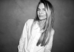 Jenny Mannerheim, Creative Director of Each x Other, backstage at the Each…