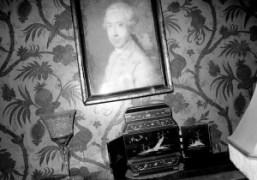 Camille Bidault Waddington's summer house at night, Rabastens, South West of France….