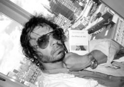 Self portrait at The Standard Hotel, New York. Photo Olivier Zahm