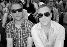 Gert Jonkers and Jop Van Bennekom from Fantastic Man at the Dior…