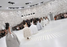 Christian Dior Haute Couture F/W 2014/15 at Musée Rodin, Paris