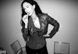 L'Wren Scottafter her Spring/Summer 2012 show, New York.Photo Olivier Zahm