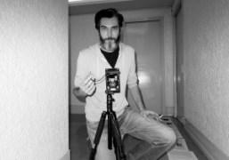 Gianni Oprandidoing a portrait of me at the Purple Institute, Paris. Photo…