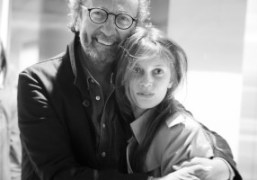 Paolo Roversi and Marine Vacth at the Snowdon Acne Blue Launch in…