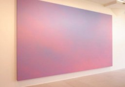Sky Backdrop by Alex Israelon view at Greene Naftali's new group exhibition…