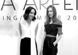Serafina Sama and Valentine Fillol Cordier at the Isa Arfen dinner atThe…